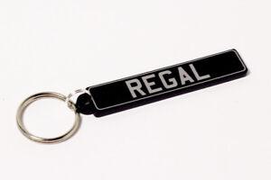 Reliant Regal Keyring - UK Number Plate Classic Car Keytag / Keyfob