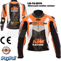 KTM Motorbike Motorcycle Rider  racing motogp men new Leather  Jacket LD-15-2019