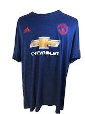 Adidas Manchester United Men's 2Xl 2016/17 Soccer Jersey Football Shirt Ai6704