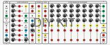 BOCGS SWAMP SERGE PANEL ANALOG SEQUENCER +POWER SUPPLY DIY KIT MODULAR SYSTEM