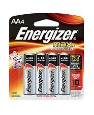 Energizer Max Piles AA E91bp4 Conçu pour Empêcher Endommageant Leaks (4