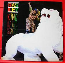 Ras Iley King Of The Stage LP BARBADOS ORIG 1993 Soca Wirl W 395 Inez+ VINYL