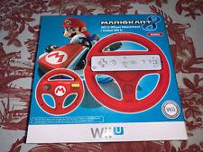 Hori Nintendo Mario Kart 8 Wii U Wheel Attachment Red Mario Brand New Sealed