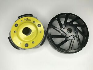 Scooter GY6 150cc High Performance MB Clutch and Forged Bell Combo Black