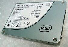 """80GB INTEL S3500 series SSD SATA 2.5"""" solid state drive"""