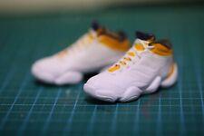Custom 1/6 hot adid Crazy 3 Kobe Bryant lakers fit Enterbay figures toys white