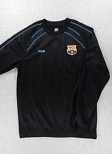 FC Barcelona Stitched Logo Long Sleeve Soccer Training Pullover (Mens Medium)