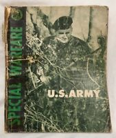 SPECIAL WARFARE: U.S. ARMY, US War Office Book 1962