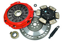 KUPP 6-PUCK CLUTCH KIT+PROLITE FLYWHEEL fits 04-14 SUBARU WRX STi EJ257 6 SPEED