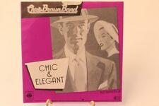 Chris Braun Band Chick und elegant Kleinanzeige CBS 2158 Schallplatte Vinyl