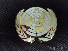 NEW British Military Issue United Nations UN Enamel Cap / Beret Badge