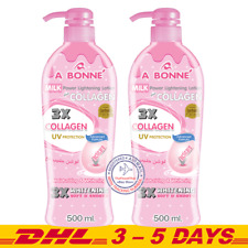 2 x 500ml : A Bonne Milk Power Lightening Lotion Plus Collagen Moisturizing