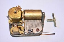 Vintage Swiss Reuge Music Box Movement Plays Happy Birthday As Is Please read !