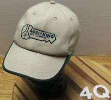 """AGRI-KING """"KEY TO PROFIT"""" HAT BEIGE SNAPBACK IN EXCELLENT CONDITION"""