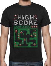 Santa Video Game Ugly Christmas Sweater Holiday T-Shirt Xmas