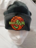 Space Jam Black And Gray Camo Beanie  Warner Bros EUC