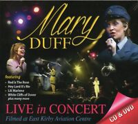 Mary Duff - Live in Concert CD & DVD Set - Brand New & Sealed