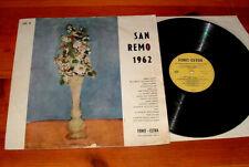 San Remo 1962 Domenico Modugno Claudio Villa Tonina Torrielli Milva ...  LP
