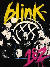 Blink 182 Small Black T-shirt Atticus Rock Metal Music Punk 2009 Summer Tour