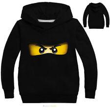 Boys Girls NINJAGO Kids Cartoon Hoodies Sweatshirt Pullover Spring Fall Costumes