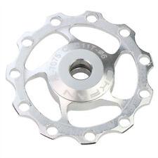 2x Roldanas de Cambio Aluminio CNC 11 Dientes 11T Rulinas Poleas Roldana Rulina