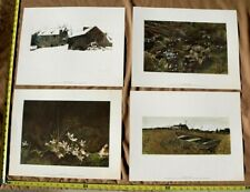 FOUR SEASONS Loose Print Portfoilo by Andrew Wyeth 1st Ed 1962 In Original Box
