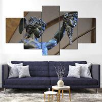Perseus - Medusa Slayer Canvas Print Framed 5 Pcs Panel Wall Art Poster Decor