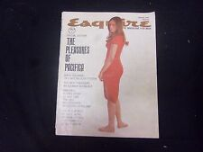 1960 AUGUST ESQUIRE MAGAZINE - GREAT COVER, PHOTOS AND ADS - ST 2597