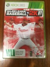 Major League Baseball 2K11 - XBOX 360 Game – Complete Condition