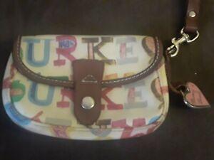 Dooney & Bourke Self Titled Wristlet Wallet Clutch