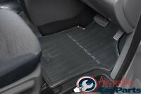 Hyundai iMax iLoad Floor Mats Rubber FRONT &  REAR SET New Genuine 2008-2017