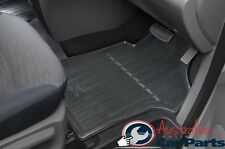 Hyundai iMax iLoad Floor Mats Rubber FRONT &  REAR SET New Genuine 2008-2017