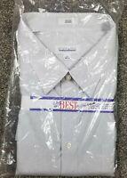 NEW-Mens Gray JOSEPH & FEISS Non Iron Dress Shirt 22-34/35