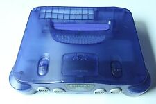 Official Purple Nintendo 64 N64 Grape Funtastic Console Only Clear Atomic Rare
