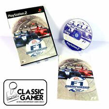 F1 campeonato temporada 2000 (PS2) Racing Video Juegos-Libre P&p * casi Nuevo *