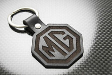 MG Luxury Leather Keyring Keychain Schlüsselring Porte-clés MGB GT ZT ZR ZS MGF