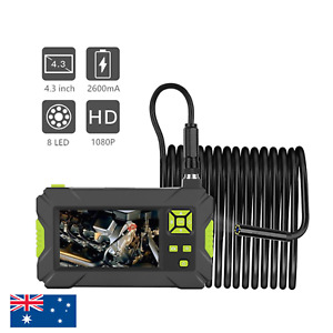 "HD1080P 4.3"" 8MM Display Screen Industrial Endoscope Camera Borescope Monitor"