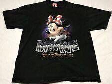 Vintage Disney Minnie Mouse T-Shirt Size Medium Short Sleeve Cotton EUC Sz M