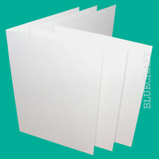 50 x A6 TRADE White Card Blanks WHOLESALE from 4p
