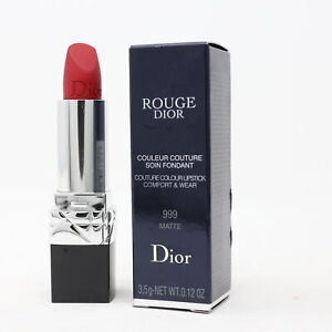 Dior Rouge Dior Lipstick  0.12oz/3.5g New With Box