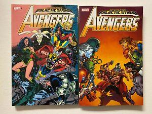 Galactic Storm Avengers SCTPB Set #1-2 8.0 VF (2006)