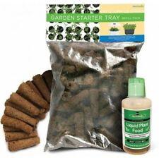 AeroGarden Refill Kit Liquid Nutrients Aero Grow Sponges Seed Starter System New