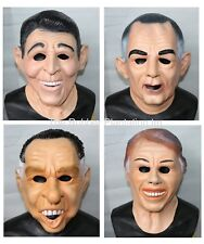 Ronald Reagan, Carter, LBJ, Nixon Mask Presidents ALL 4 Point Break Masks Joblot