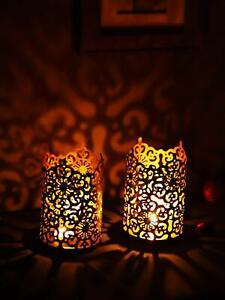 Metal Wall Sconce Tealight Candle Holder Home Decor Wall Hanging T-light Holder