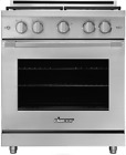Dacor HGR30PSNG Heritage 30 Inch Freestanding Professional Gas Range Stainless photo