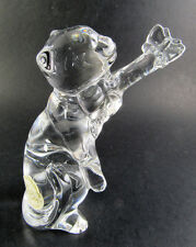 Lenox Crystal Cat Gentle Friends with Butterfly Figurine Sculpture (A36)