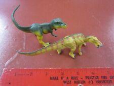 A Dinosaur named Sue--T-rex and Anatotitan from Safari Ltd.