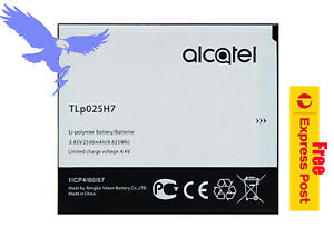 Replacement Battery for Alcatel Part Number TLp025H1 TLp025H7 Free EXP Shipping