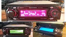 Panasonic CQ-C7301N Radio De Coche MP3 receptor AM FM REPRODUCTOR DE CD AUX-In Cambiador Cont.