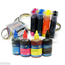 CISS & Ink Set For HP 950 951 Officejet Pro 8600 8625 8630 8515 e-All-in-One CIS